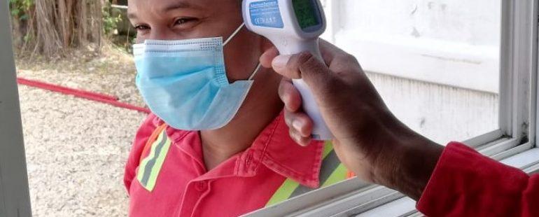 COVID-19: Medición de temperatura Corporal